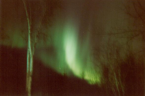 Northern Lights / Aurora Borealis photo taken at Tepee-Tonka Resort